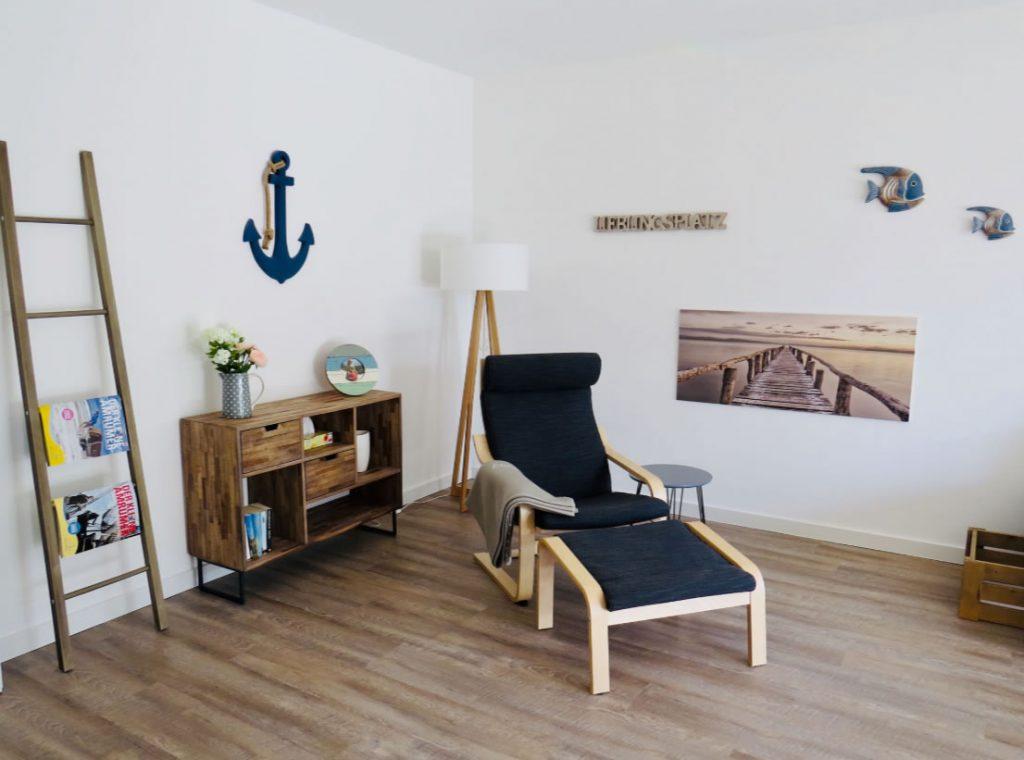 Ferienwohnung einrichten: Das Wohnzimmer