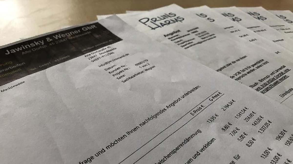 Dachausbau: Kosten im Erfahrungsbericht
