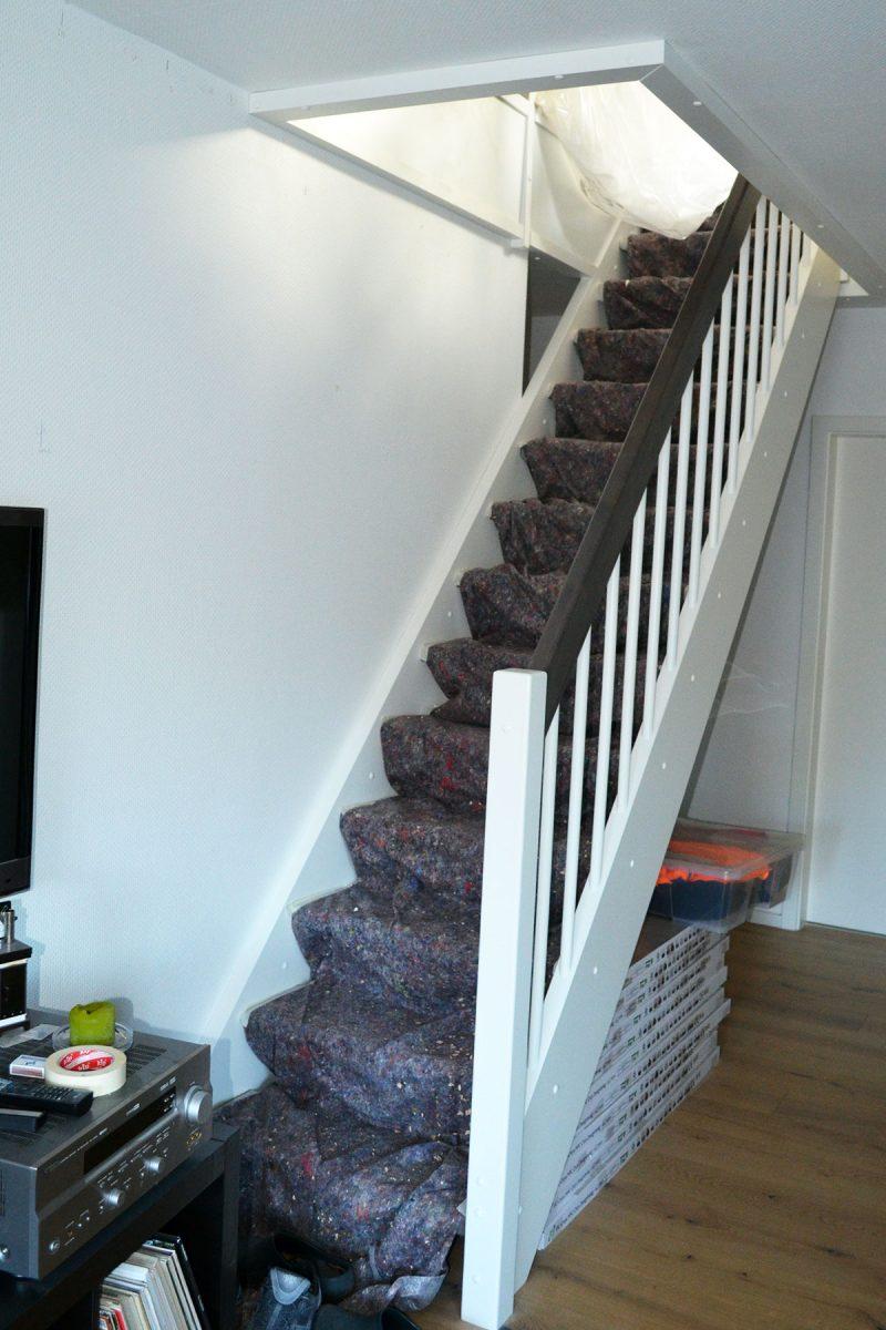 Dachboden ausbauen: Treppe