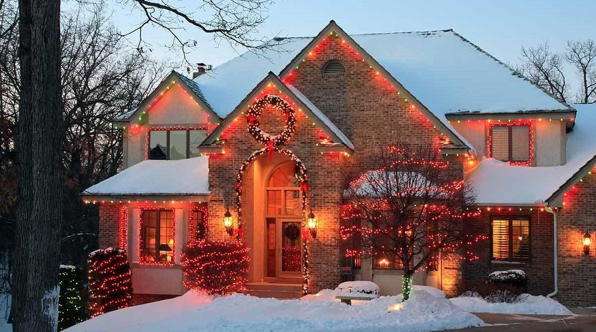 Smarte Weihnachtsbeleuchtung