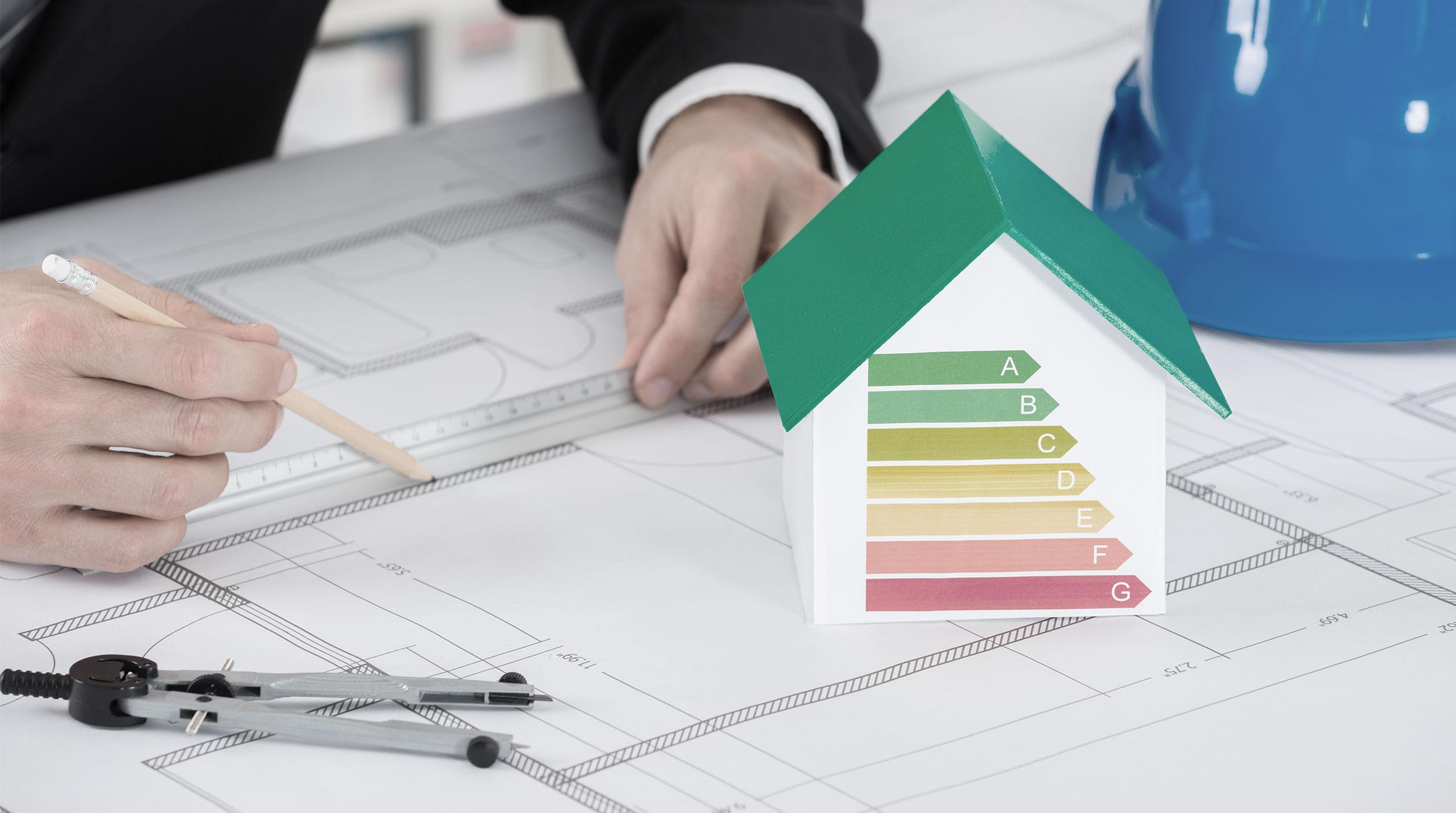 Introbild Energieeffizient Bauen