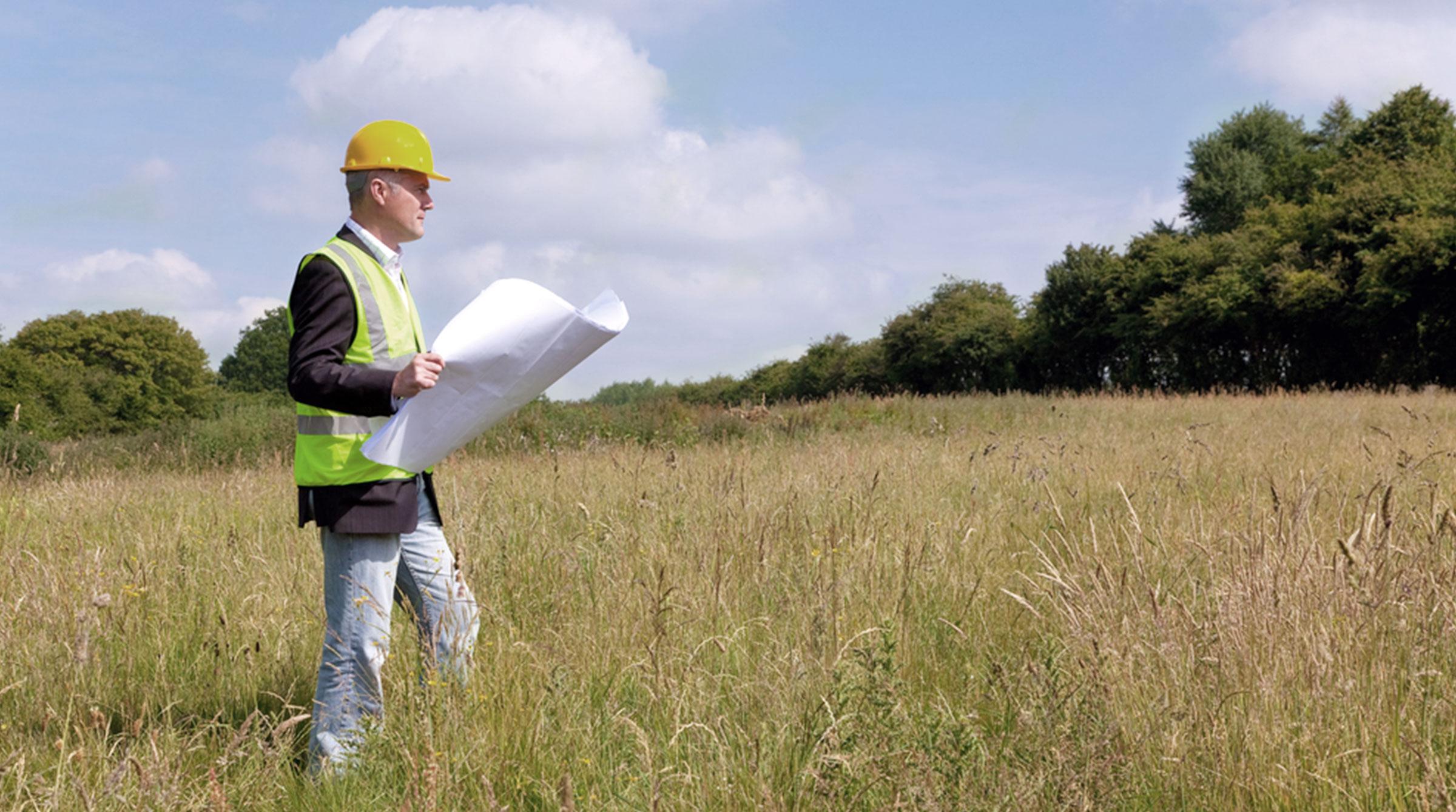 Introbild Grundstücksfinanzierung