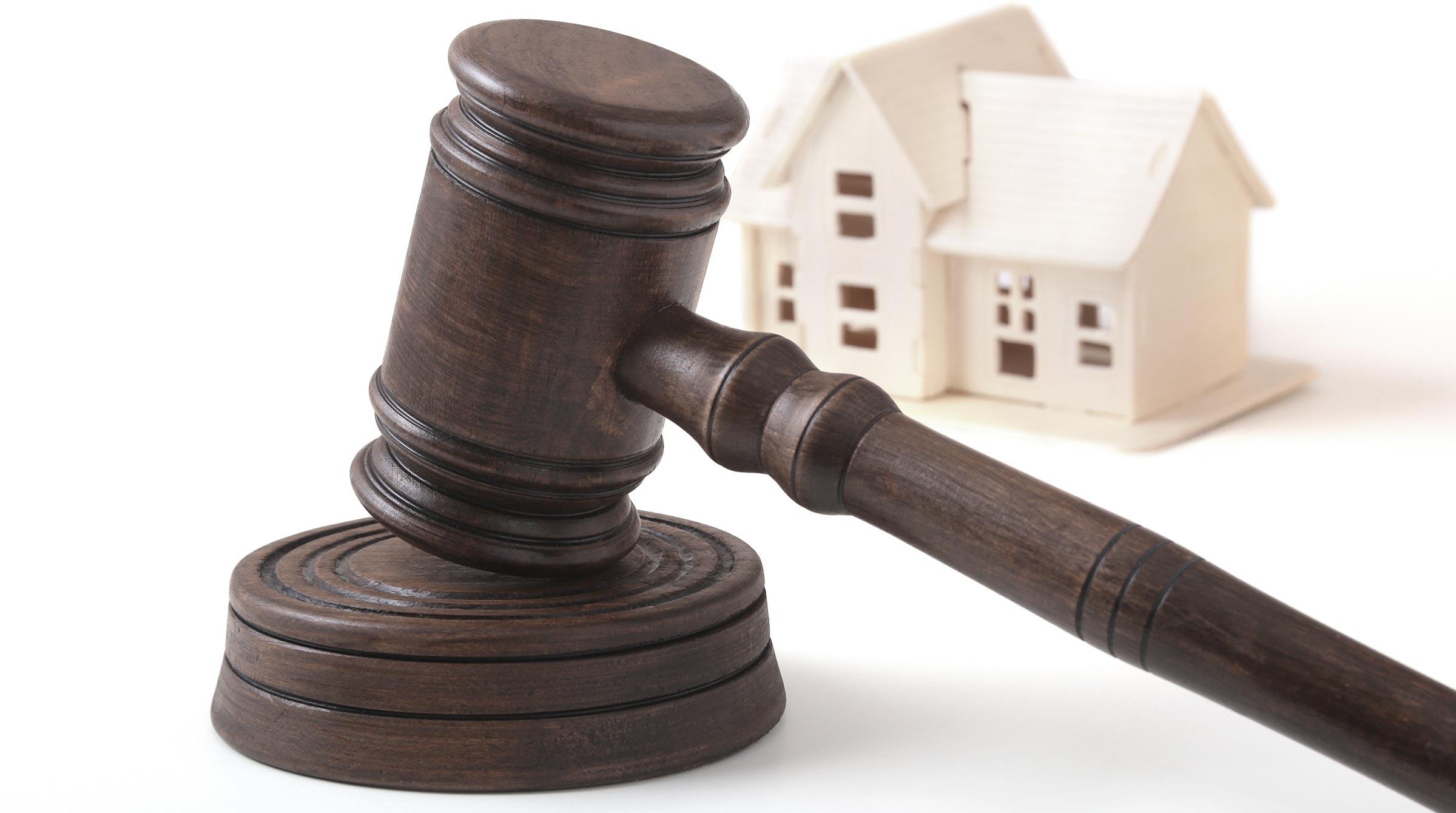 Introbild Scheidung mit Haus