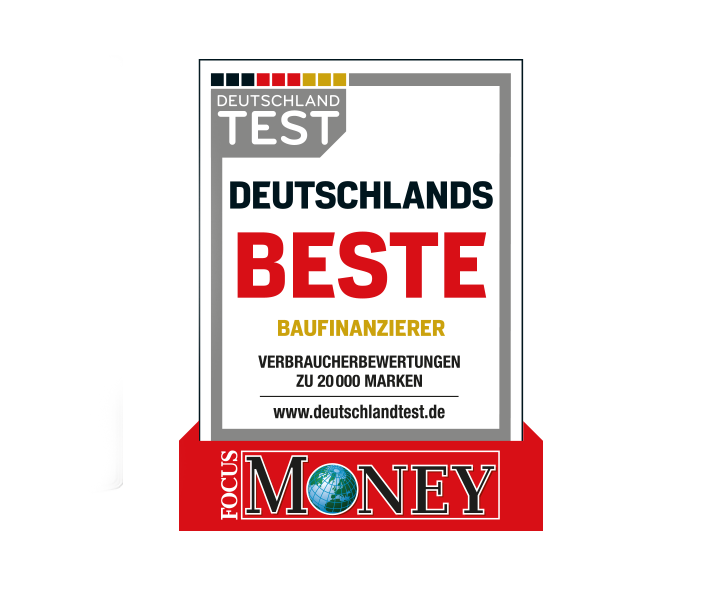 Focus Money: Bester bundesweiter Finanzierungsvermittler