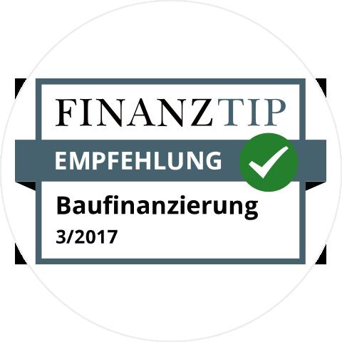 Finanztip: Empfehlung - Baufinanzierung