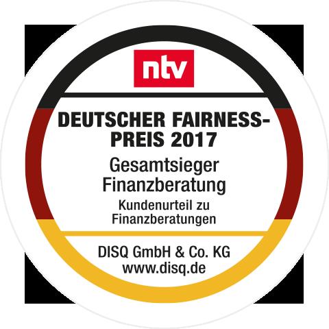 Siegel Fairnesspreis 2017