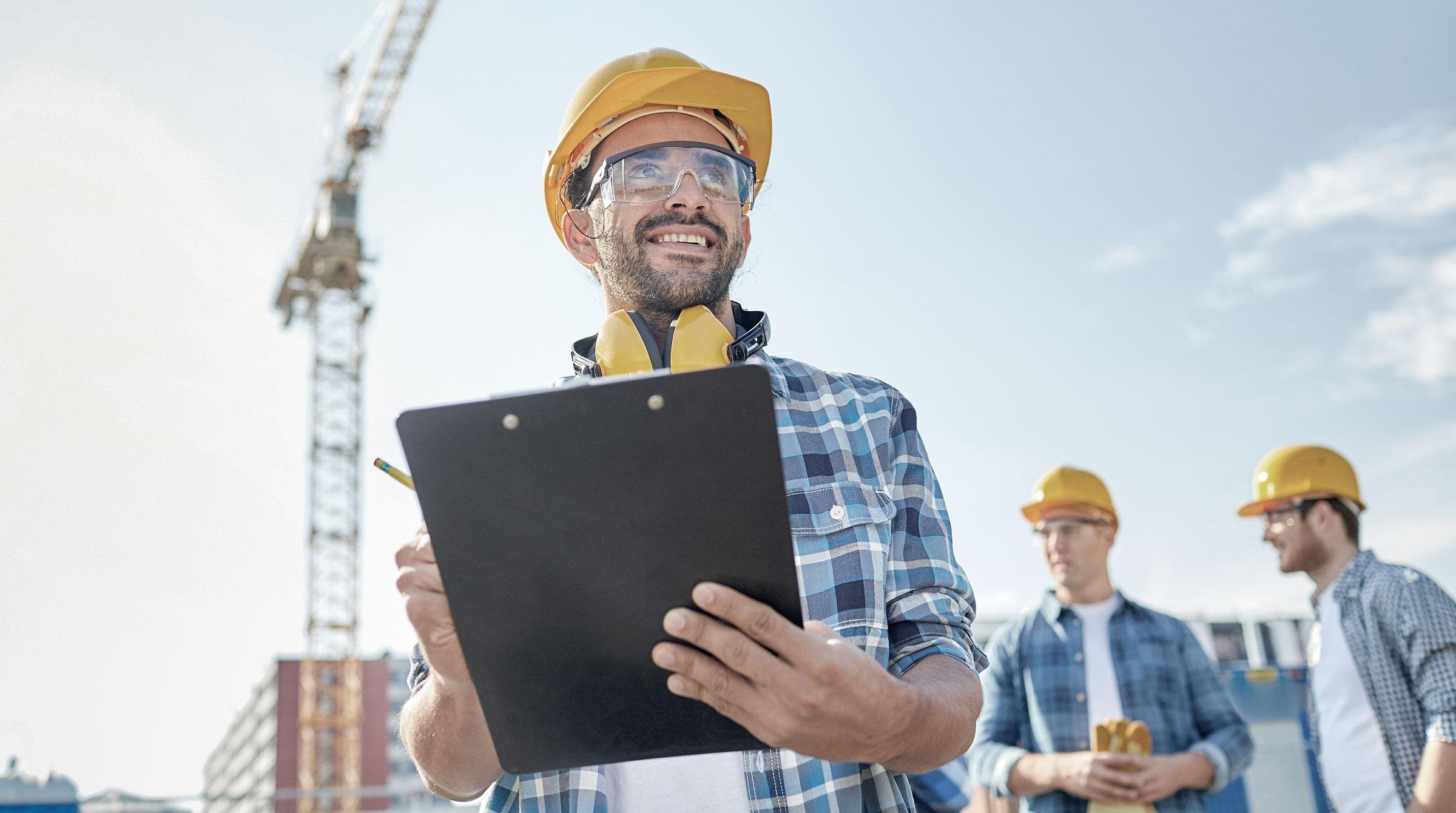 Introbild Bauherrenhaftpflichtversicherung